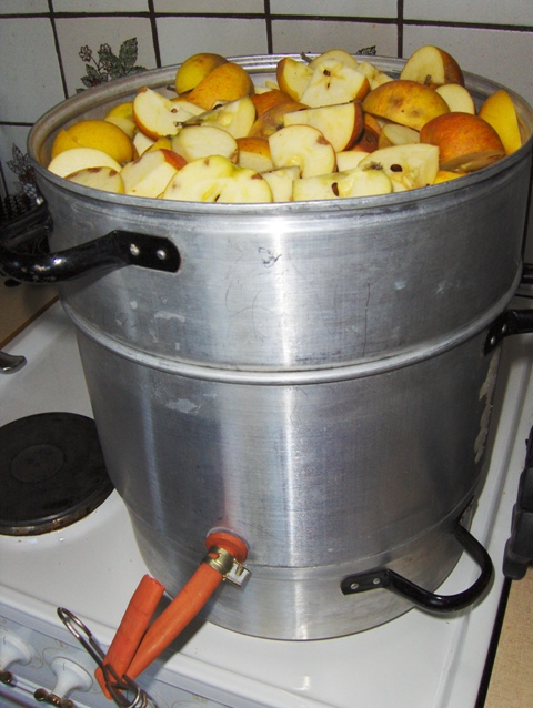lage eplesaft