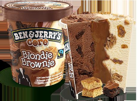 ben & jerry's blondie brownie
